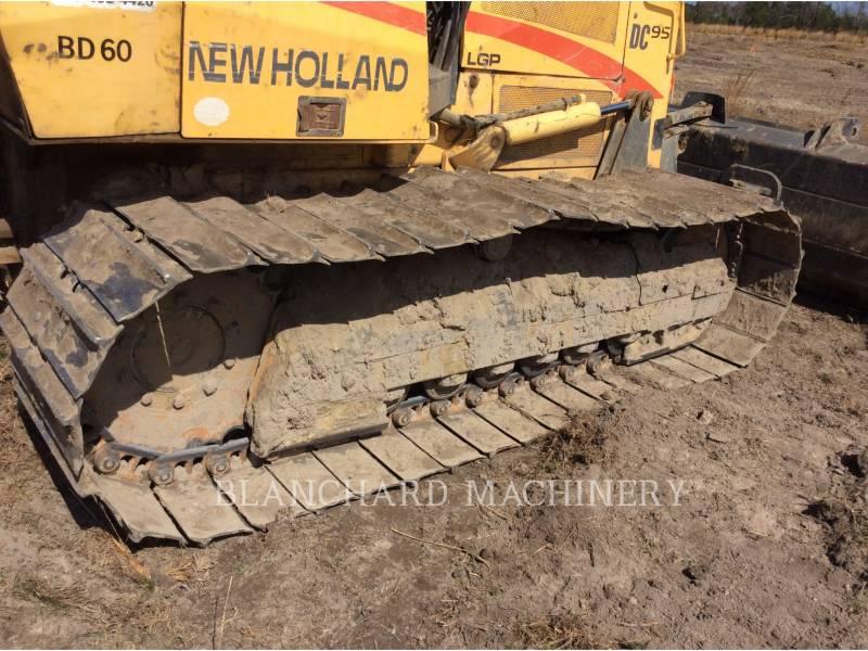 NEW HOLLAND LTD. TRACTEURS SUR CHAINES DC95 LGP equipment  photo 11