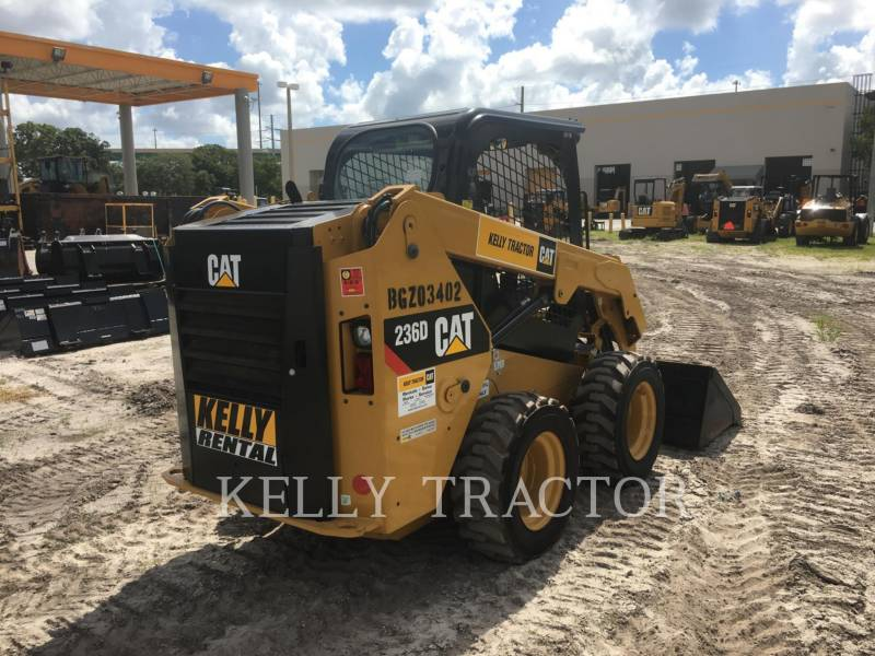 Caterpillar MINIÎNCĂRCĂTOARE RIGIDE MULTIFUNCŢIONALE 236 D equipment  photo 8