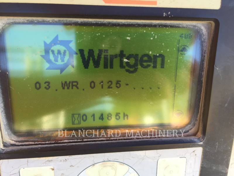 WIRTGEN STABILISATEURS DE SOL/RECYCLEUSES WR 2000XL equipment  photo 5