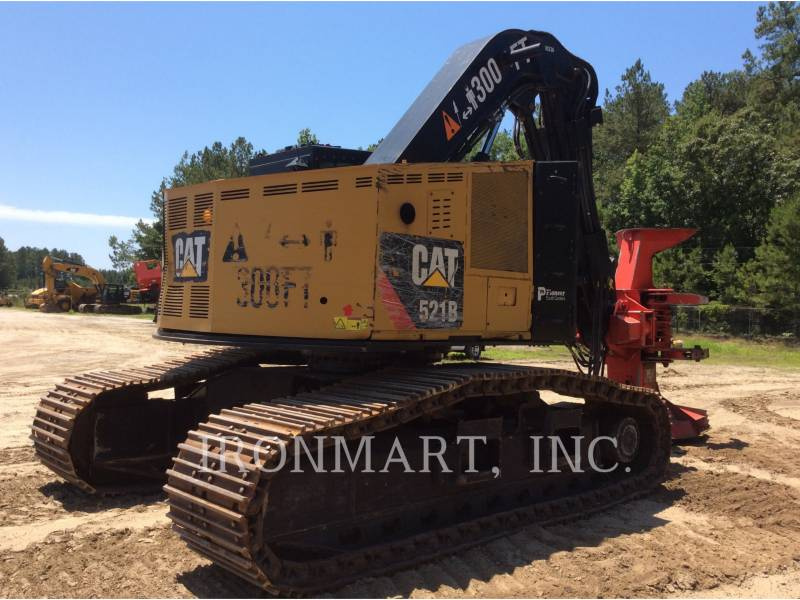 CATERPILLAR FORESTRY - FELLER BUNCHERS - TRACK 521B equipment  photo 6