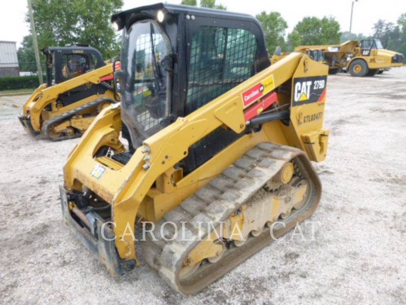 CATERPILLAR CHARGEURS SUR CHAINES 279D CB equipment  photo 6