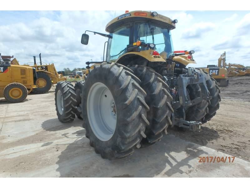 AGCO-CHALLENGER TRACTEURS AGRICOLES MT675D equipment  photo 4