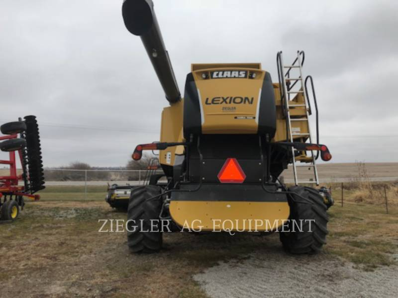 LEXION COMBINE COMBINES 750TT equipment  photo 2