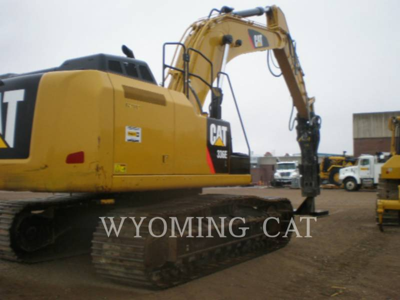CATERPILLAR PELLES SUR CHAINES 336EL HAMR equipment  photo 1