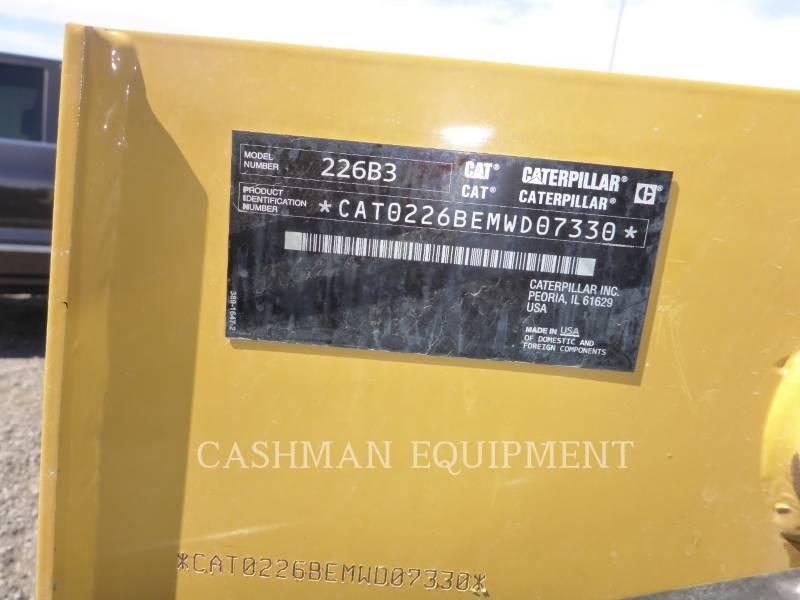 CATERPILLAR MINICARREGADEIRAS 226B3 equipment  photo 11