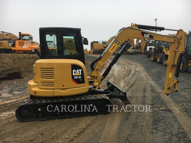 CATERPILLAR TRACK EXCAVATORS 305.5E2 CB equipment  photo 4