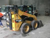 Equipment photo CATERPILLAR 242DLRC 滑移转向装载机 1