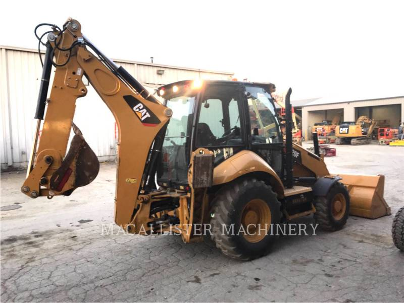 CATERPILLAR CHARGEUSES-PELLETEUSES 420FST equipment  photo 2