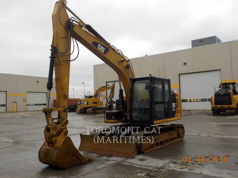 CATERPILLAR KETTEN-HYDRAULIKBAGGER 312 E LC WITH BLADE equipment  photo 7