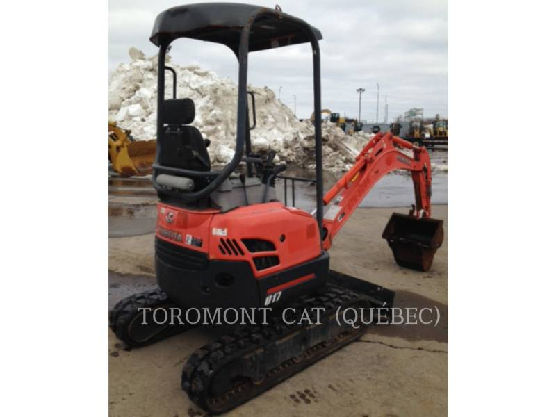 KUBOTA CORPORATION EXCAVADORAS DE CADENAS U17 equipment  photo 8
