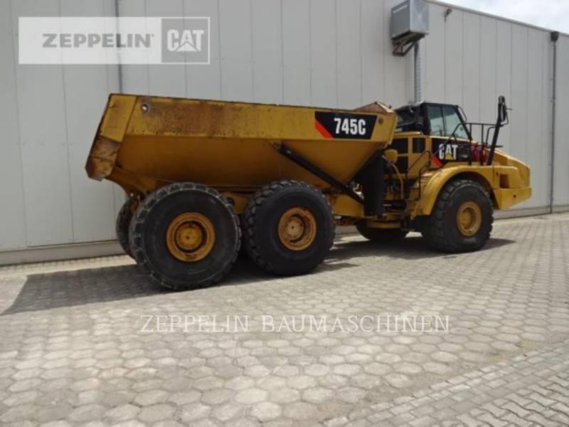CATERPILLAR KNICKGELENKTE MULDENKIPPER 745C equipment  photo 5