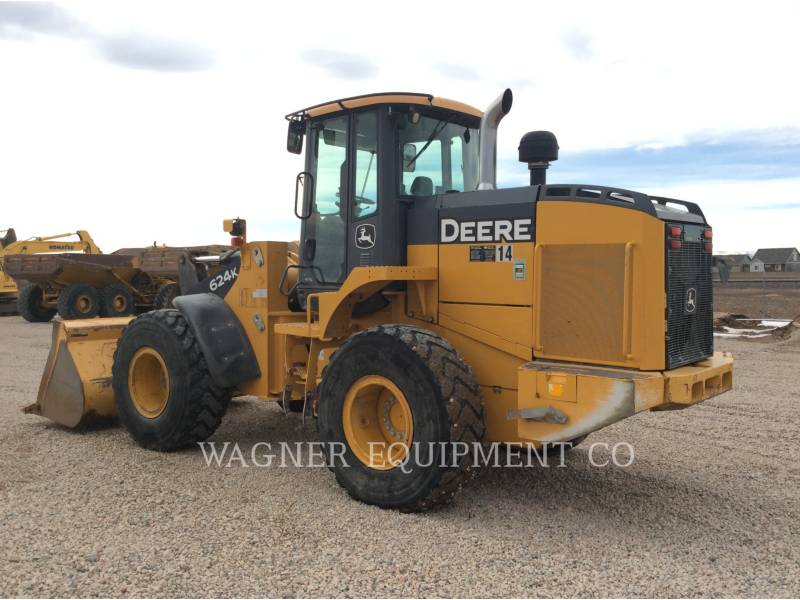 JOHN DEERE WHEEL LOADERS/INTEGRATED TOOLCARRIERS 624K equipment  photo 2