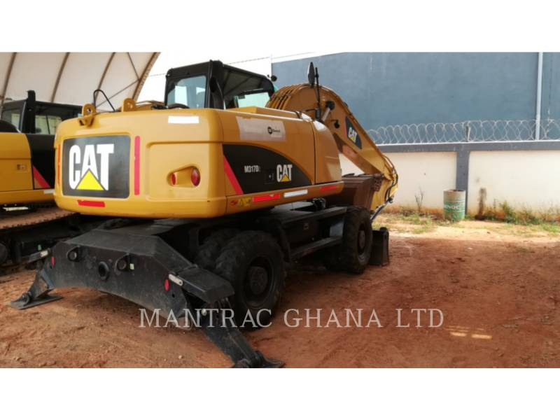 CATERPILLAR EXCAVADORAS DE RUEDAS M317 D2 equipment  photo 1