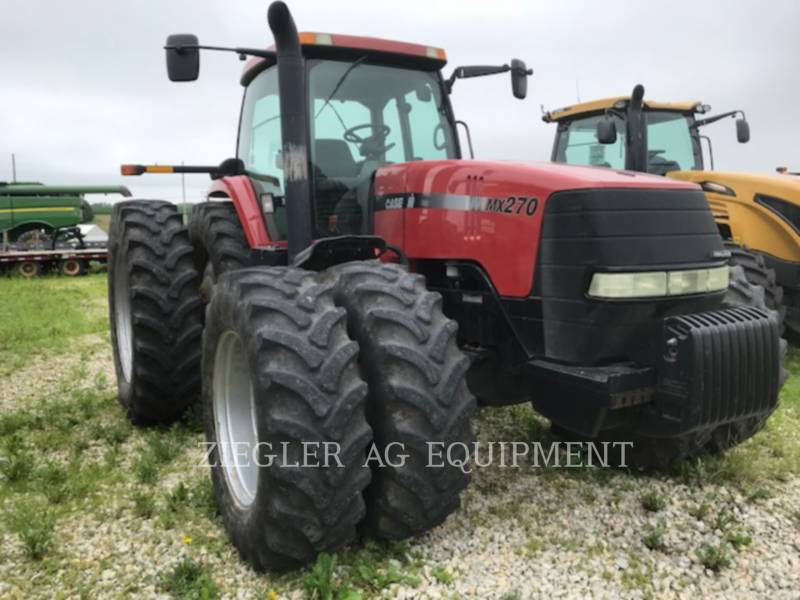 CASE/NEW HOLLAND AG TRACTORS MX270 equipment  photo 1