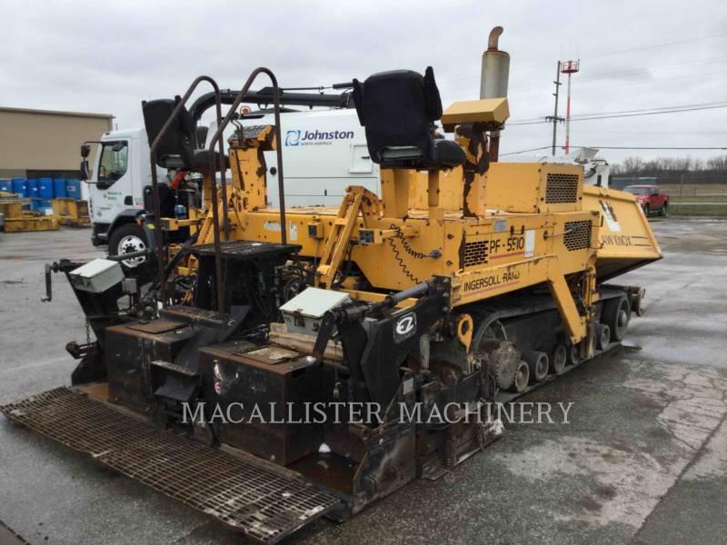 BLAW KNOX / INGERSOLL-RAND ASPHALT PAVERS PF 5510 equipment  photo 1