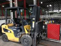 Equipment photo MITSUBISHI CATERPILLAR FORKLIFT GP25NM3 MONTACARGAS 1