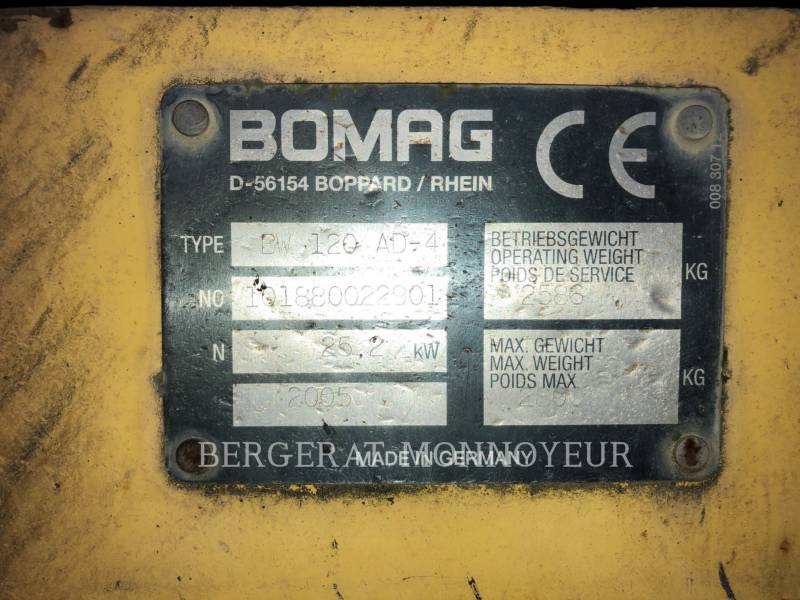 ABG - ASSOCIATION GROUP COMPACTEURS BW120 equipment  photo 3