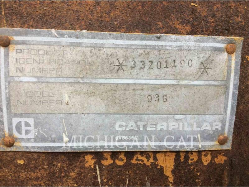 CATERPILLAR CARGADORES DE RUEDAS 936 equipment  photo 8