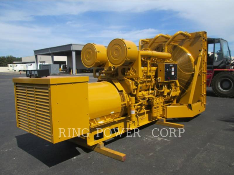 CATERPILLAR STATIONARY GENERATOR SETS 1500 KW equipment  photo 1