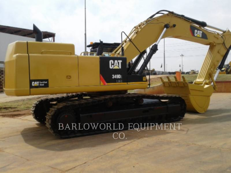 CATERPILLAR BERGBAU-HYDRAULIKBAGGER 349D equipment  photo 2