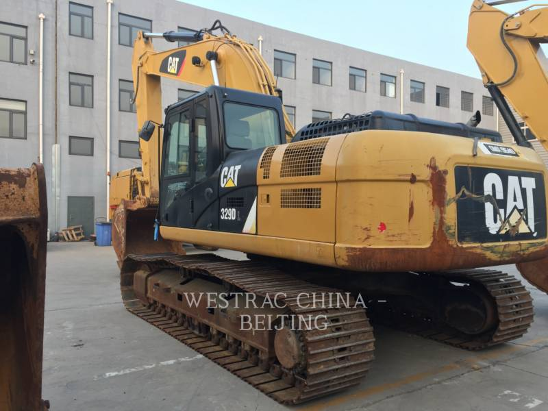 CATERPILLAR KETTEN-HYDRAULIKBAGGER 329DL  equipment  photo 1