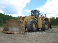 CATERPILLAR CHARGEURS SUR PNEUS MINES 993 K equipment  photo 1