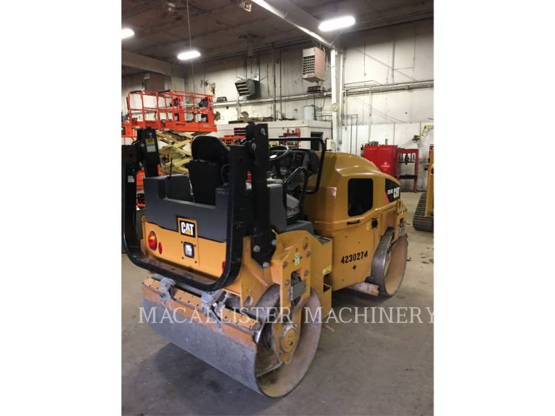 CATERPILLAR COMPACTEURS TANDEMS VIBRANTS CB34B equipment  photo 3