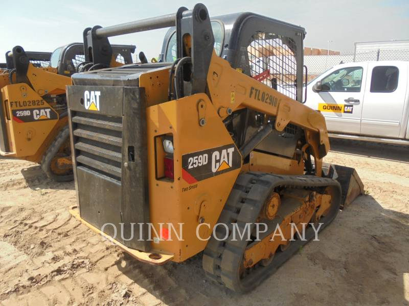 CATERPILLAR SKID STEER LOADERS 259D equipment  photo 1