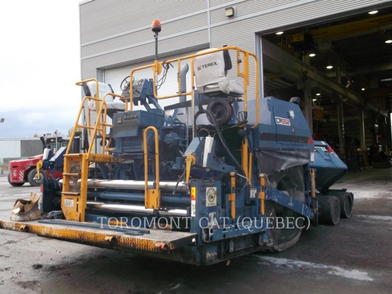 TEREX EQUIP. LTD. ASPHALT PAVERS CR552 equipment  photo 2