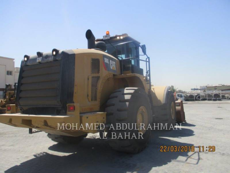 CATERPILLAR CARGADORES DE RUEDAS 980 L equipment  photo 4