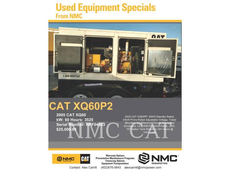 CATERPILLAR BEWEGLICHE STROMAGGREGATE XQ60P2 equipment  photo 5