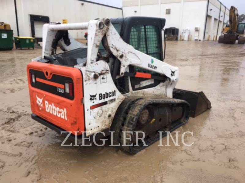 BOBCAT CARREGADEIRAS TODO TERRENO T590 equipment  photo 3