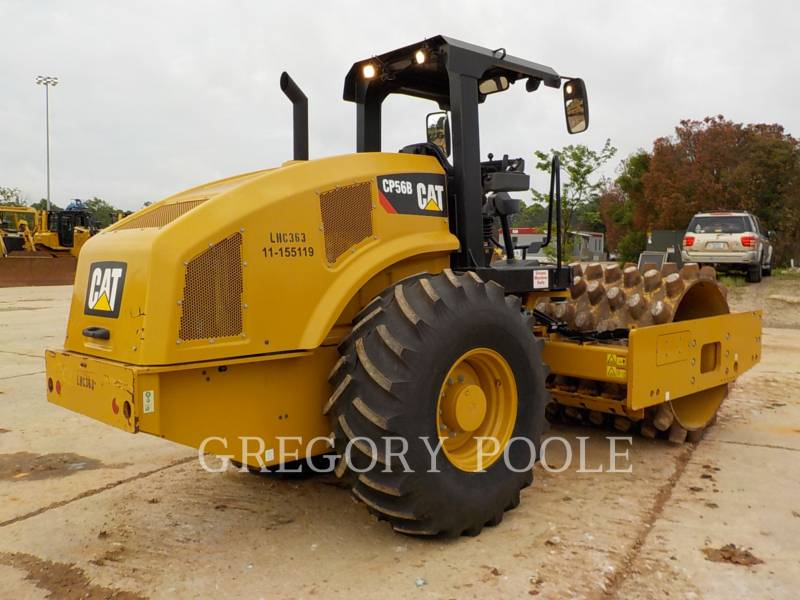 CATERPILLAR COMPACTEUR VIBRANT, MONOCYLINDRE À PIEDS DAMEURS CP-56B equipment  photo 12