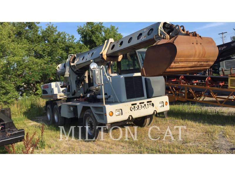 GRADALL COMPANY WHEEL EXCAVATORS XL4100 equipment  photo 1