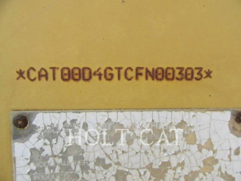 CATERPILLAR TRACK TYPE TRACTORS D4G equipment  photo 5