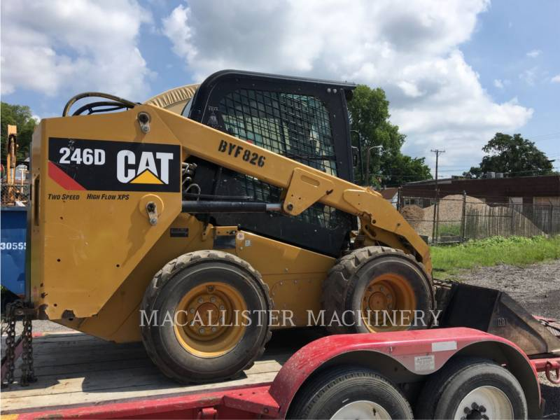 CATERPILLAR SKID STEER LOADERS 246D equipment  photo 2