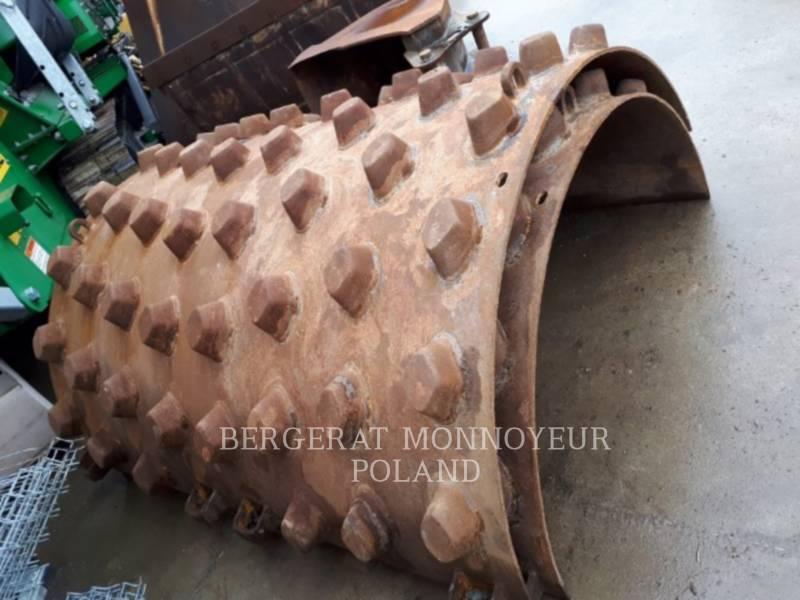 CATERPILLAR EINZELVIBRATIONSWALZE, GLATTBANDAGE CS56 equipment  photo 8