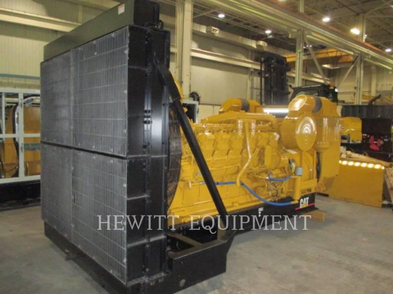 CATERPILLAR STATIONARY GENERATOR SETS 3512, 910KW 600VOLTS equipment  photo 4