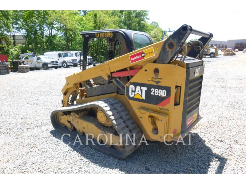 CATERPILLAR CARGADORES DE CADENAS 289D equipment  photo 3