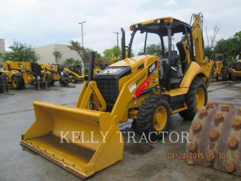 CATERPILLAR RETROEXCAVADORAS CARGADORAS 416FST equipment  photo 7