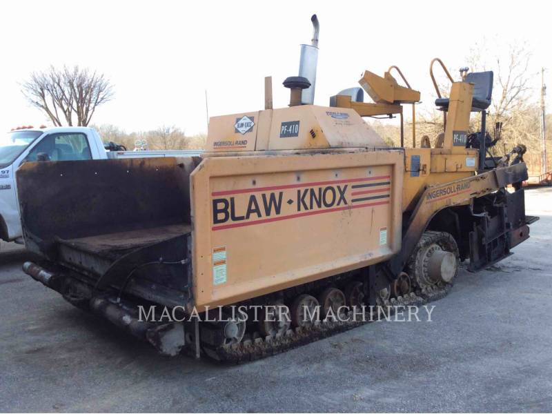 BLAW KNOX / INGERSOLL-RAND ASPHALT PAVERS PF-410 equipment  photo 1