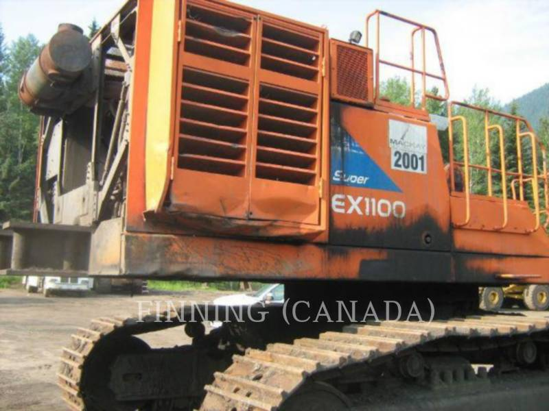 HITACHI PALA PARA MINERÍA / EXCAVADORA EX 1100-3 equipment  photo 6