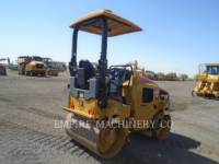 CATERPILLAR TANDEMOWY WALEC WIBRACYJNY DO ASFALTU (STAL-STAL) CB24B LT equipment  photo 2
