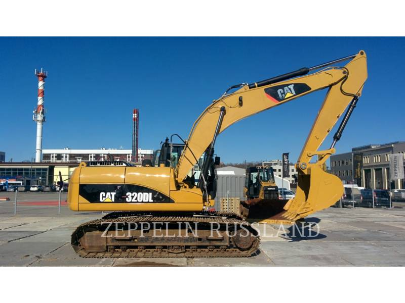 CATERPILLAR RUPSGRAAFMACHINES 320DL equipment  photo 6
