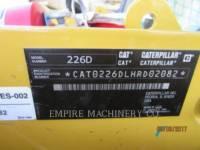 CATERPILLAR MINICARGADORAS 226D CA equipment  photo 5