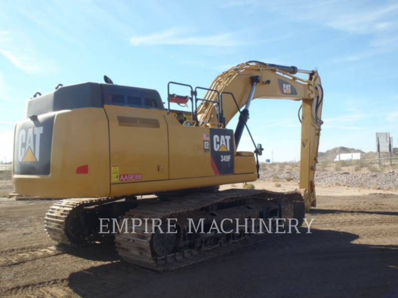 CATERPILLAR KETTEN-HYDRAULIKBAGGER 349FL equipment  photo 2