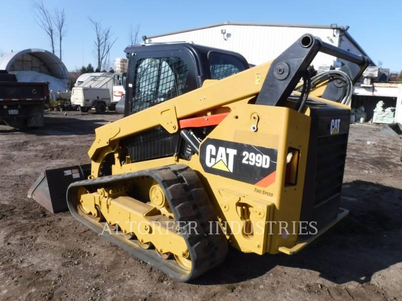 CATERPILLAR 多地形装载机 299D equipment  photo 2