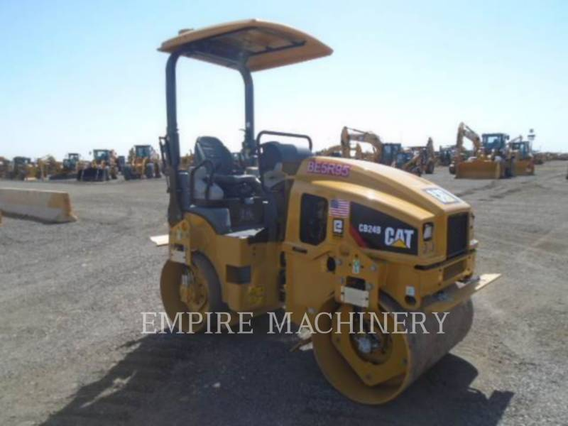 CATERPILLAR TANDEMVIBRATIONSWALZE, ASPHALT CB24B equipment  photo 1