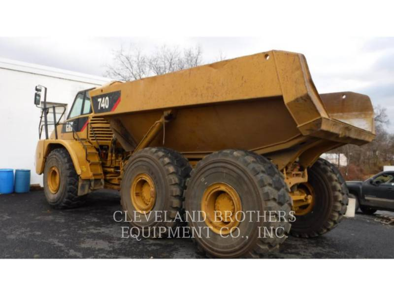 CATERPILLAR ARTICULATED TRUCKS 740 equipment  photo 3