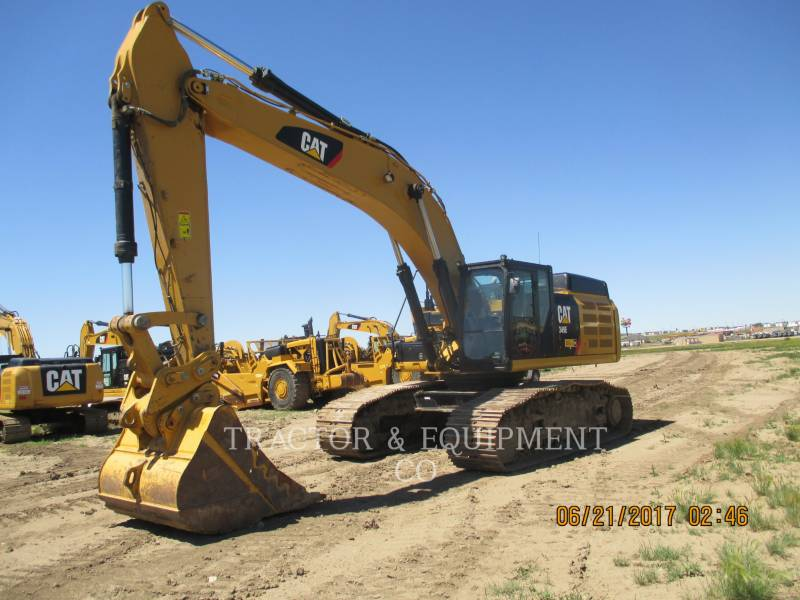 CATERPILLAR TRACK EXCAVATORS 349E LVG equipment  photo 2